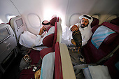 Qatar: Falcons on the Plane