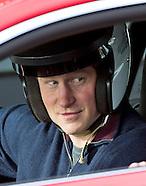 Prince Harry At Goodwood Race Circuit