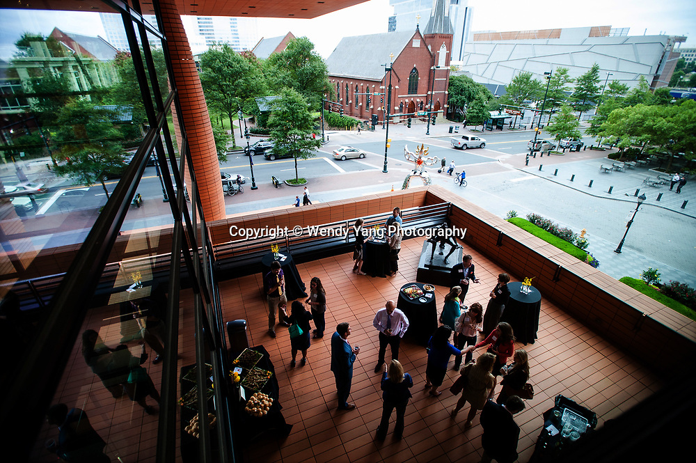 September 25, 2014 - The Bechtler Young Visionaries celebrated their first-year anniversary on the sculpture terrace at the Bechtler Museum of Modern Art. <br /> &copy; 2014 Wendy Yang Photography