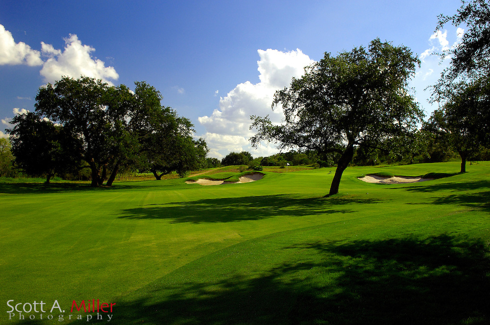 September 7, 2007, San Antonio, Texas; Hole No. 5 at the Briggs Ranch Golf CLub...                ©2007 Scott A. Miller