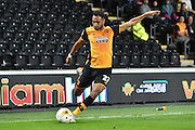 Hull City midfielder Ahmed Elmohamady during the Sky Bet Championship match between Hull City and Ipswich Town at the KC Stadium, Kingston upon Hull, England on 20 October 2015. Photo by Ian Lyall.