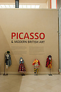 Picasso and Modern British Art, Tate Gallery. Millbank. 13 February 2012