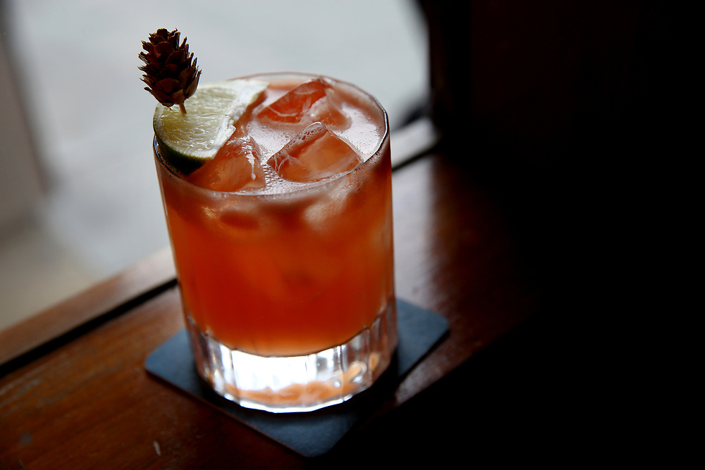 The Thunderbird drink at The Beehive, Saturday, May 5, 2018, in San Francisco, Calif. The Beehive is located at 842 Valencia Street.