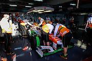 February 19, 2013 - Barcelona Spain. Paul di Resta, Sahara Force India F1 Team  during pre-season testing from Circuit de Catalunya.