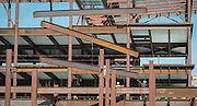 Construction on the new DeBakey High School for Health Professionals, November 24, 2015.