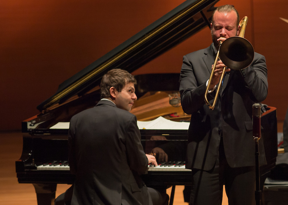 Dan Nimmer and Elliot Mason, Jazz at Lincoln Center Orchestra