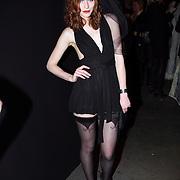 NLD/Amsterdam/20080123 - Modeshow Marlies Dekkers tijdens de Amsterdam Fashionweek 2008, deelnemers Holland next Topmodel, Cecile Sinclair in lingerie