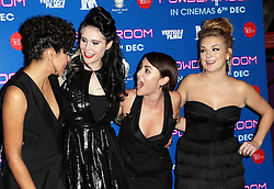 Riann Steele, Kate Nash, Jaime Winstone and Sheridan Smith  arriving at the premiere of Powder Room,  in London, Wednesday, 27th November 2013. Picture by Stephen Lock / i-Images