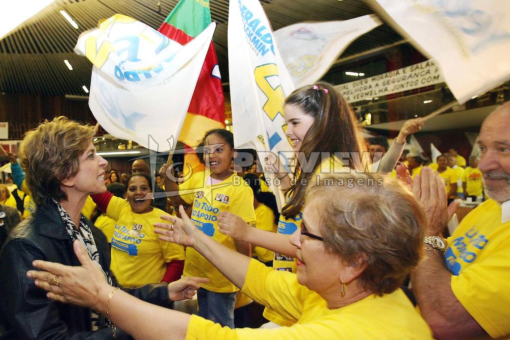 A candidata ao governo do Estado do RS Yeda Crusius participa de encontro com Sindicatos do Funcionalismo Público do RS. FOTO: Jefferson Bernardes/Preview.com
