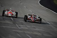 Scott Dixon, Ryan Briscoe, Meijer Indy 300, Kentucky Speedway, Sparta, KY 010809 09IRL12