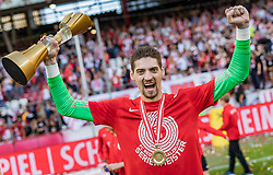 26.05.2019, Red Bull Arena, Salzburg, AUT, 1. FBL, FC Red Bull Salzburg Meisterfeier, im Bild Cican Stankovic (FC Red Bull Salzburg) // during the Austrian Football Bundesliga Championsship Celebration at the Red Bull Arena in Salzburg, Austria on 2019/05/26. EXPA Pictures © 2019, PhotoCredit: EXPA/ JFK
