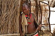 male Karo tribesman. Omo Valley, Ethiopia