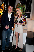 JAN MIKOLAJCZAK; MARIE ELIZABETH RATH, La Mania launch party. The Royal Academy. Burlington St. London. 16 February 2012.