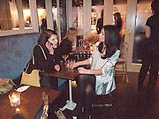 BENOIT GRIMES; DANIELLA TASCA-YORK, Coquine  launch. 160 old brompton rd. South Kensington. London. SW5  30 March 2010.