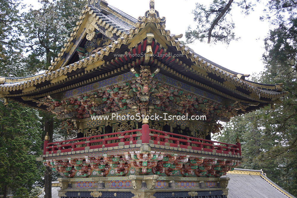 Japan, Tochigi, Nikko, Tosho-gu shrine Exterior