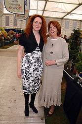 Left to right, REBEKAH WADE and her mother DEBORAH WADEat the 2008 Chelsea Flower Show 19th May 2008.<br /><br />NON EXCLUSIVE - WORLD RIGHTS