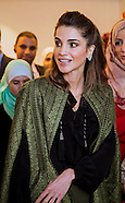 Queen Rania TIRAZ Exhibition