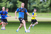 Forest Green Rovers Charlie Clough during the Forest Green Rovers Training at the Cirencester Agricultural College, Cirencester, United Kingdom on 12 July 2016. Photo by Shane Healey.