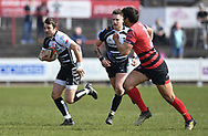 Pontypridd' Dale Stuckey<br /> Photographer Mike Jones/Replay Images<br /> <br /> Aberavon RFC v Pontypridd RFC <br /> Principality Premiership<br /> Saturday 14th April 2018<br /> Talbot Athletic Ground<br /> <br /> World Copyright © Replay Images . All rights reserved. info@replayimages.co.uk - http://replayimages.co.uk