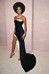 September 13, 2018 - New York, NY, USA - September 13, 2018  New York City..Ebonee Davis attending the 4th Annual Clara Lionel Foundation Diamond Ball on September 13, 2018 in New York City. (Credit Image: © Kristin Callahan/Ace Pictures via ZUMA Press)