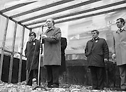 Image of Fianna Fáil leader Charles Haughey touring West Cork during his 1982 election campaign...04/02/1982.02/04/82.4th February 1982..Making the bid:..Charles Haughey biddiing for the vote.