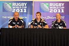 Invercargill-Rugby, RWC, Scotland press conference