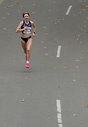 03-11-2013 ATLETIEK: NY MARATHON: NEW YORK <br /> Jelena Prokopcuka LAT werd derde  op de NY marathon in 02:25:56.<br /> ©2013-FotoHoogendoorn.nl