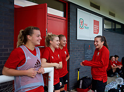 NEWPORT, WALES - Tuesday, November 6, 2018: Wales' Wales academy players during a training session at Dragon Park ahead of two games against Portugal. (Pic by Paul Greenwood/Propaganda)