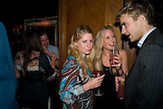 VIOLET HENDERSON; LILY ALLSOP; AIDEN CRAWLEY, The Tatler Little Black Book party. Tramp. 40 Jermyn St. London SW1 *** Local Caption *** -DO NOT ARCHIVE-© Copyright Photograph by Dafydd Jones. 248 Clapham Rd. London SW9 0PZ. Tel 0207 820 0771. www.dafjones.com.