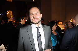 SERGE MICHEL CEO Armin Strom at a party to celebrate the launch of Armin Storm's One Week Watch at Asprey, 167 New Bond Street, London W1 on 18th November 2010.