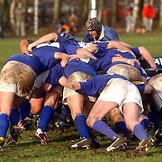 Rugby 't Gooi - Haagse RC, scrum