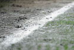 Parts of the pitch become waterlogged  - Mandatory by-line: Nizaam Jones/JMP- 30/03/2018 -  FOOTBALL -  Cardiff City Stadium- Cardiff, Wales -  Cardiff City v Burton Albion - Sky Bet Championship