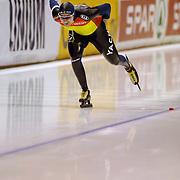 NLD/Heerenveen/20060122 - WK Sprint 2006, 2de 1000 meter heren, Marius Bacila