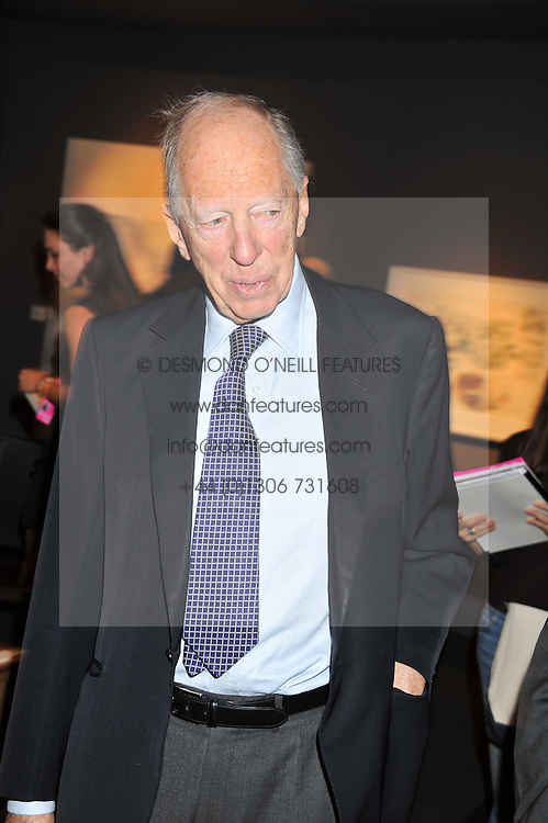 LORD ROTHSCHILD at the Private View of the Pavilion of Art & Design London 2011 held in Berkeley Square, London on 10th October 2011.