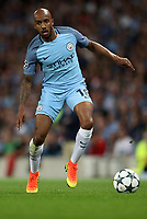 Football - 2016 / 2017 Champions League - Qualifying Play-Off, Second Leg: Manchester City [5] vs. Steaua Bucharest [0]<br /> <br /> Fabian Delph of Manchester City during the match, at the Ethihad Stadium.<br /> <br /> COLORSPORT/LYNNE CAMERON