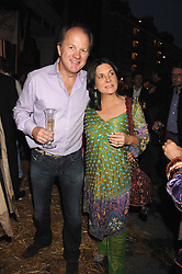 ORLANDO HARRIS and   at a party to celebrate the publication of Country Living by Kathryn Ireland held at Blanchards, 86-88 Pimlico Road, London SW1 on 25th September 2007.<br />