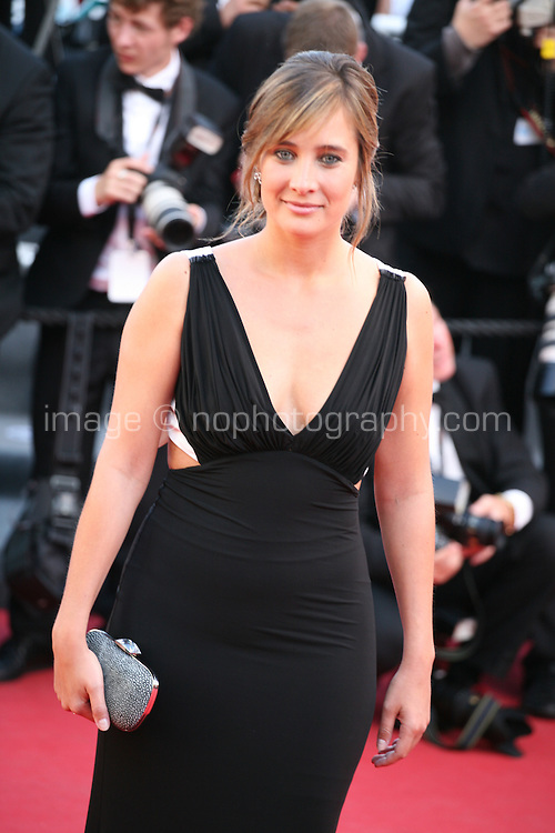 Julie De Bona at the 'Behind The Candelabra' gala screening at the Cannes Film Festival  Tuesday 21 May 2013
