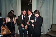Dinner to mark 50 years with Vogue for David Bailey, hosted by Alexandra Shulman. Claridge's. London. 11 May 2010