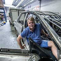 Nederland, Wormerveer, 24 augustus 2016.<br /> <br /> Voormalig stuntman Willem de Beukelaer.<br /> Former stuntman Willem de Beukelaer. <br /> <br /> Foto: Jean-Pierre Jans