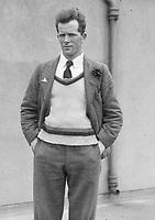 H913<br /> Aonach Tailteann Athletics.<br /> J.J. O'Reilly marathon runner. First Irish finisher in the marathon. 1928. (Part of the Independent Newspapers Ireland/NLI Collection)