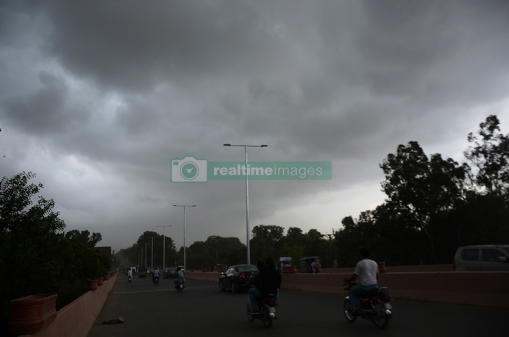August 30, 2017 - Lahore, Punjab, Pakistan - A view of the heavy monsoon rain that experienced the Provincial Capital in Lahore. (Credit Image: © Rana Sajid Hussain/Pacific Press via ZUMA Wire)