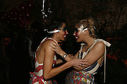 Jodie Lee and Kate Maguire, The Moet and Chandon Fashion Tribute 2006 Honouring British Photographer Nick Knight. Strawberry Hill House. Twickenham. 24 October 2006. -DO NOT ARCHIVE-© Copyright Photograph by Dafydd Jones 66 Stockwell Park Rd. London SW9 0DA Tel 020 7733 0108 www.dafjones.com