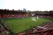 The Valley during the Sky Bet Championship match between Charlton Athletic and Ipswich Town at The Valley, London, England on 28 November 2015. Photo by Matthew Redman.
