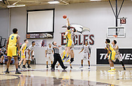 December 9, 2017: The Oklahoma Baptist University Bison play against the Oklahoma Christian University Eagles in the Eagles Nest on the campus of Oklahoma Christian University.
