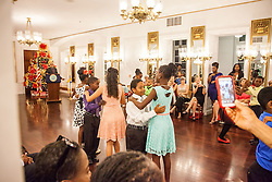 Dancing Classrooms Virgin Islands culminating event at the Government House Ballroom in Christiansted.  St. Croix, USVI.  18 December 2015.  © Aisha-Zakiya Boyd