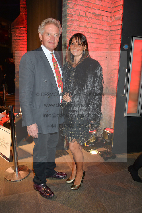 COUNT & COUNTESS LEOPOLD VON BISMARCK at a Night of Disco in aid of Save The Children held at The Roundhouse, Chalk Farm Road, London on 5th March 2015.