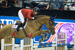 Coe Kirsten, (USA), Baronez <br />  Longines FEI World Cup™ Jumping Final Las Vegas 2015<br />  © Hippo Foto - Dirk Caremans<br /> Final III round 2 - 19/04/15