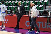 DESCRIZIONE : Eurolega Euroleague 2014/15 Gir.A Dinamo Banco di Sardegna Sassari - Zalgiris Kaunas<br /> GIOCATORE : Massimo Maffezzoli Matteo Boccolini<br /> CATEGORIA : Allenatore Coach<br /> SQUADRA : Dinamo Banco di Sardegna Sassari<br /> EVENTO : Eurolega Euroleague 2014/2015<br /> GARA : Dinamo Banco di Sardegna Sassari - Zalgiris Kaunas<br /> DATA : 14/11/2014<br /> SPORT : Pallacanestro <br /> AUTORE : Agenzia Ciamillo-Castoria / Luigi Canu<br /> Galleria : Eurolega Euroleague 2014/2015<br /> Fotonotizia : Eurolega Euroleague 2014/15 Gir.A Dinamo Banco di Sardegna Sassari - Zalgiris Kaunas<br /> Predefinita :