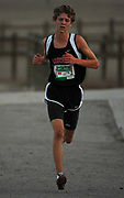 Oct 20, 2006; Walnut, CA, USA; Aric Van Halen of Oakwood places third in the Division V sweepstakes race in 15:44 over the 2.91-mile course in the 59th Mt. San Antonio College Cross Country Invitational.