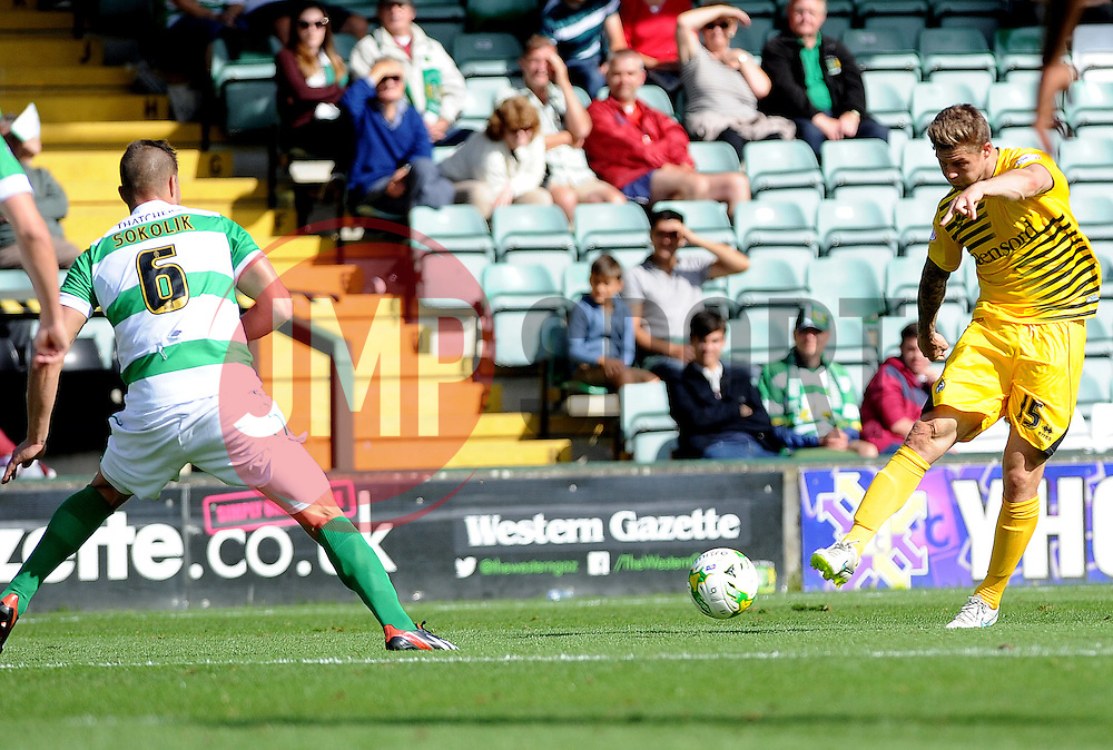 James Clarke - Mandatory byline: Neil Brookman/JMP - 07966386802 - 15/08/2015 - FOOTBALL - Huish Park -Yeovil,England - Yeovi Town v Bristol Rovers - Sky Bet League One